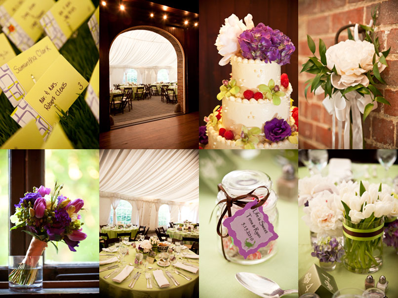 Wedding Reception Inspiration Board Evergreen House