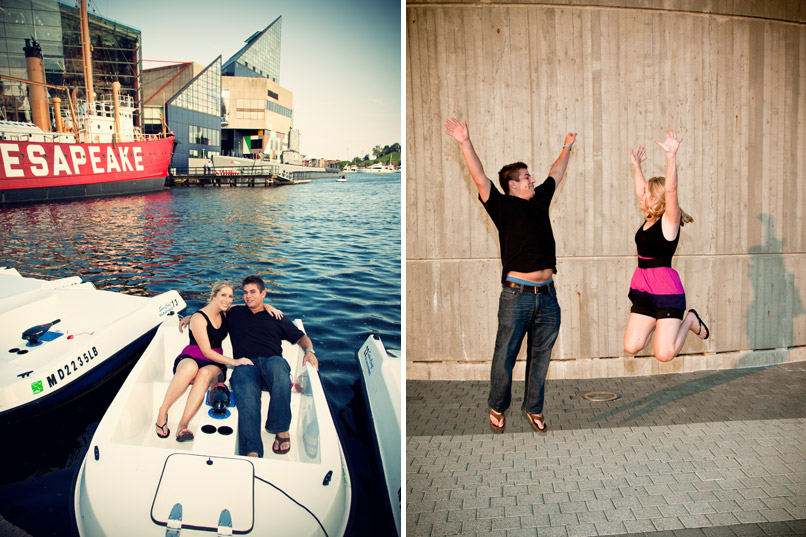 portrait photography at baltimore inner harbor