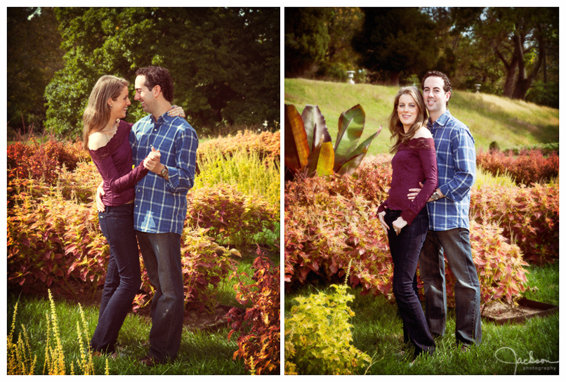 Engagement Portraits at Hampton Mansion