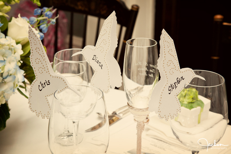 Hummingbird Placecards