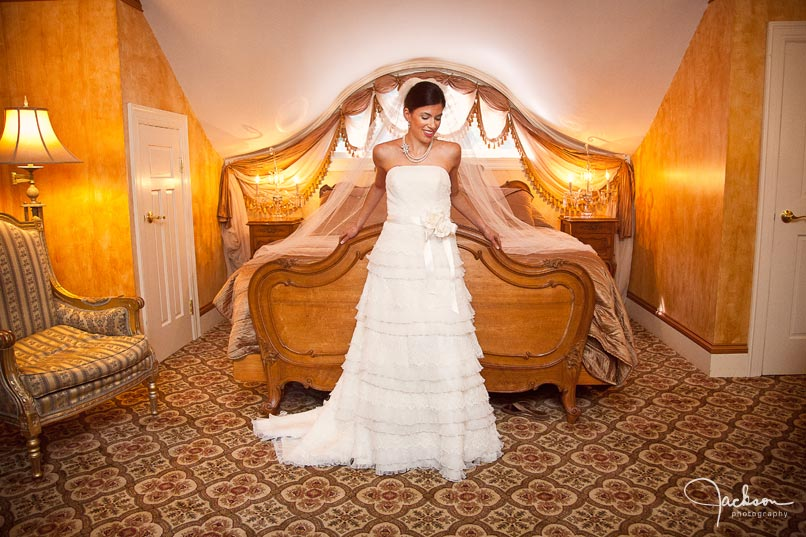 bride in suite of gramercy