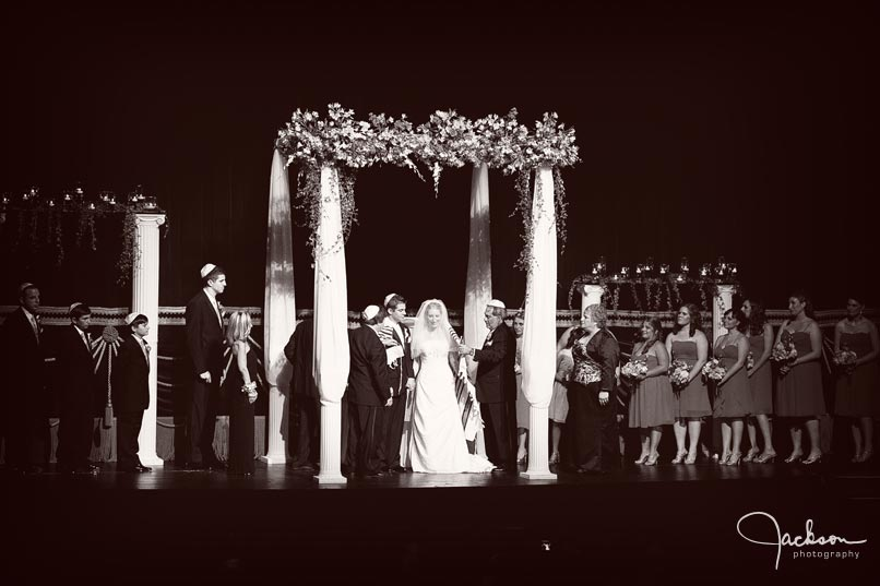 ceremony on theater stage