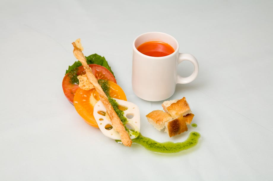 Photograph of Fine Dining Food