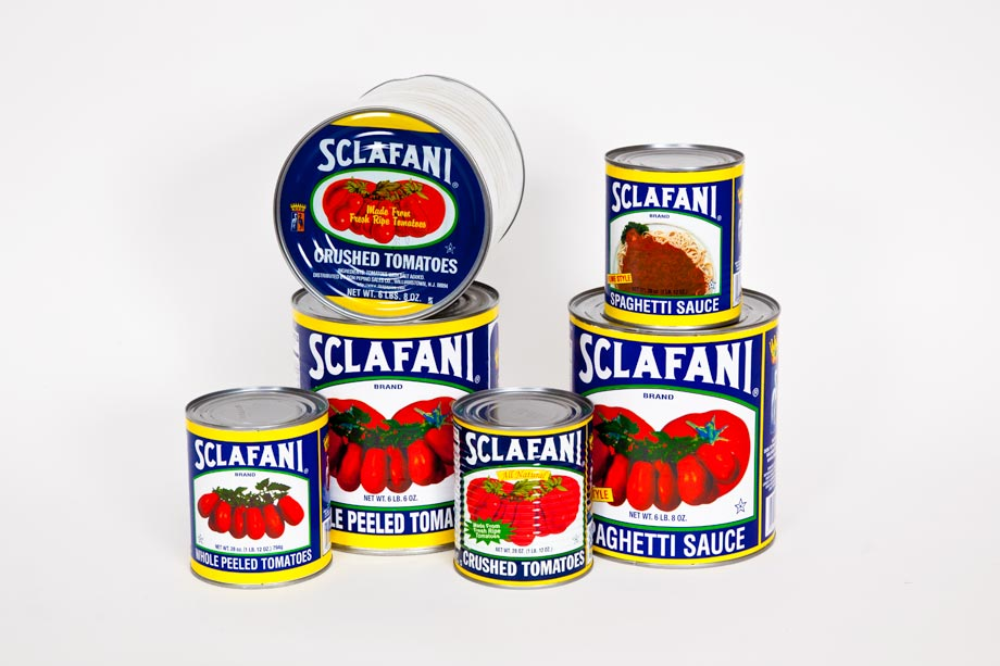 Cans of Tomatos