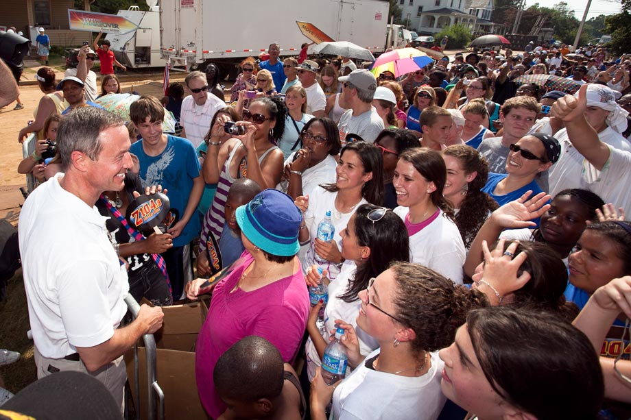 governor o'malley extreme makeover