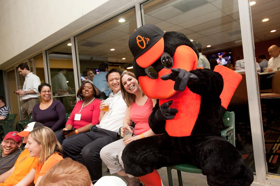 oriole bird at conference