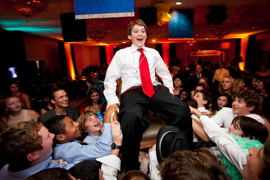 bar mitzvah chair dance