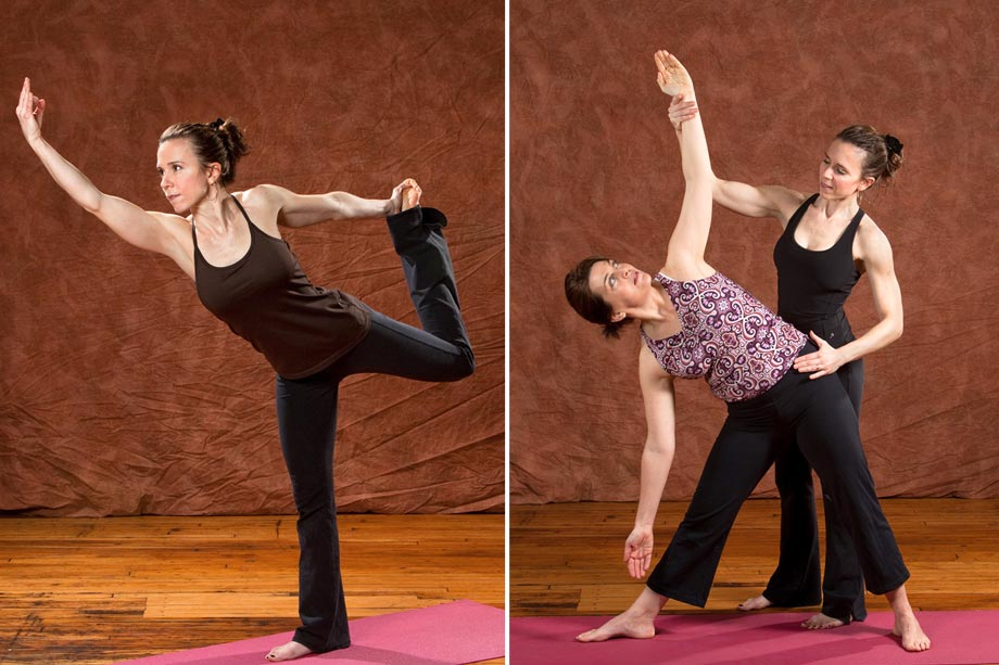women doing yoga and stretching