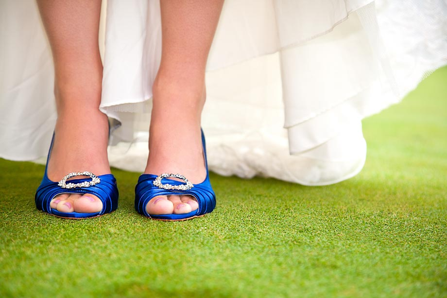 blue bridal shoes heels