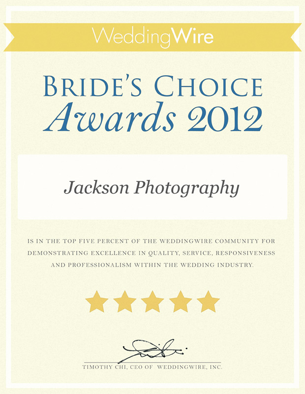 wedding wire bride's choice 2012