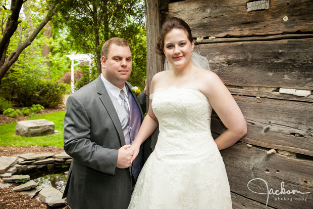 bride and groom formal