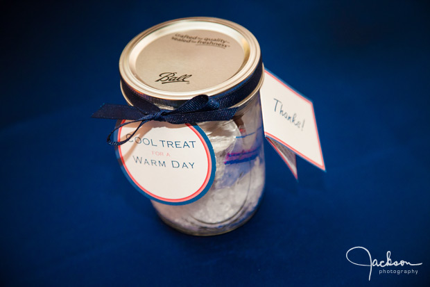 wedding favor mason jar