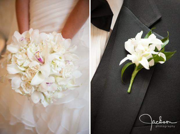 boutonniere and bouquet