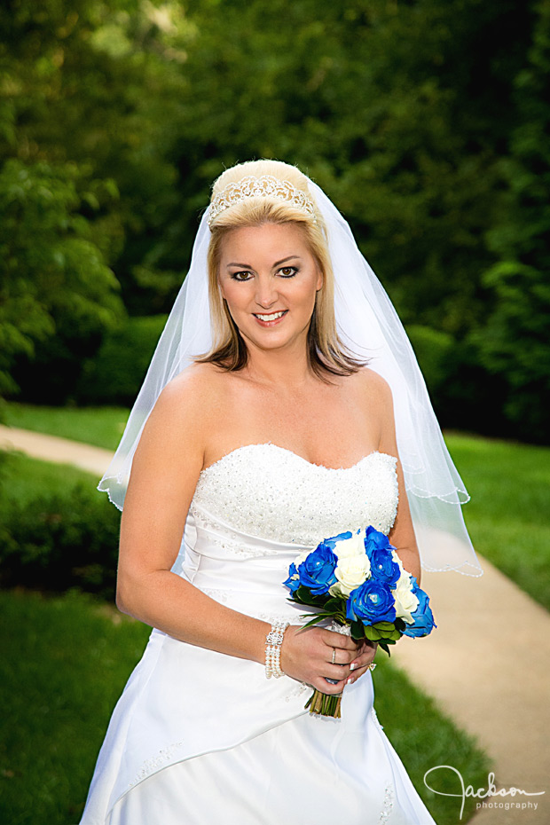 bride on the grounds of maryvale