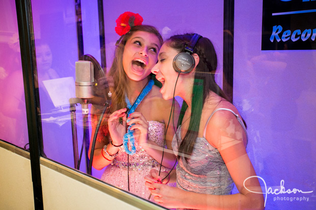 recording studio at mitzvah