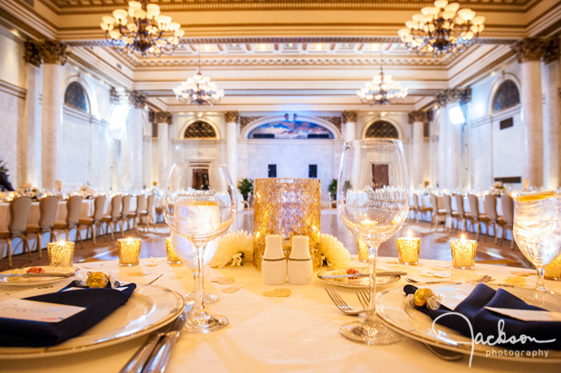 reception at the corinthian room