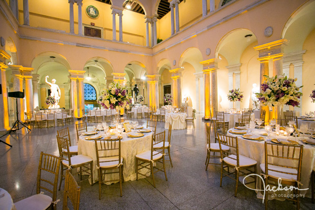 Elegant Table Set Up At Walters